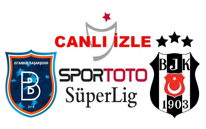 ŞİFRESİZ MAÇ İZLE Başakşehir-Beşiktaş BEİN SPORT MAÇ LİNKİ