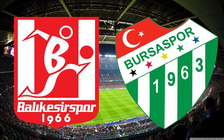 CANLI Balıkesirspor-Bursaspor TRT SPOR CANLI YAYIN